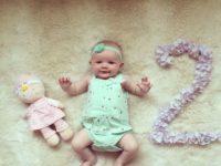 2 aylıq körpənin inkişafı