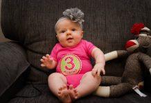 3 aylıq körpənin inkişafı
