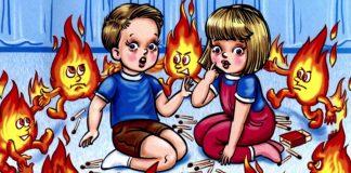 Uşaqlarınız, yanğın zamanı edilən üç əsas qaydanı bilirmi?